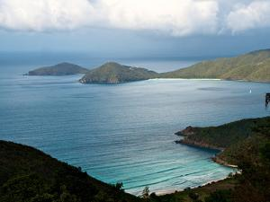 Guana Island Seen from High Atop Tortola Island by Heather Perry