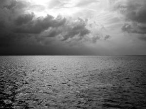 Heavy Clouds over Dark Water by Heather Perry
