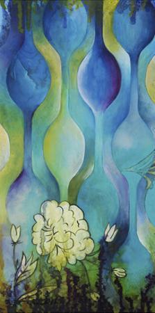 Pond Dripples I by Heather Robinson