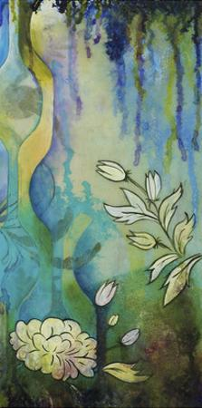 Pond Dripples II by Heather Robinson