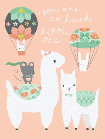 Alpaca Party You are so Loved by Heather Rosas