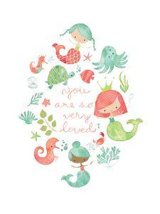 Under the Sea Mermaids by Heather Rosas