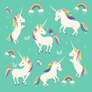 Unicorn Frolic by Heather Rosas
