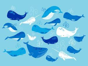 Whale of a Tale Horizontal by Heather Rosas