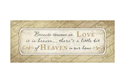 Heaven in Our Home-Jennifer Pugh-Art Print
