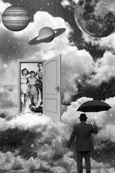Heaven's Door-Elo Marc-Giclee Print