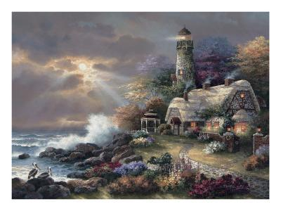 Heaven's Light-James Lee-Art Print