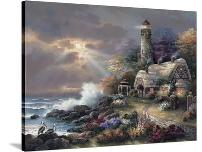 Heaven's Light-James Lee-Stretched Canvas Print