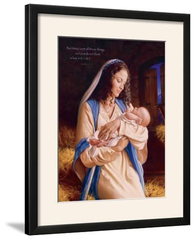 Heaven's Perfect Gift - Heart-Mark Missman-Framed Photographic Print