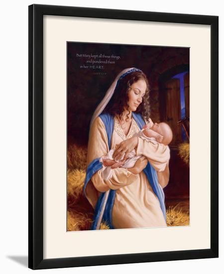 Heaven's Perfect Gift - Heart-Mark Missman-Framed Photographic Print