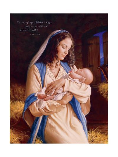 Heaven's Perfect Gift - Heart-Mark Missman-Art Print