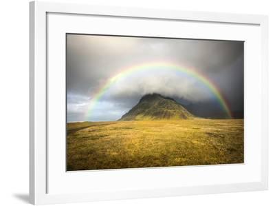 Heaven's Rainbow, Iceland-Marco Carmassi-Framed Photographic Print
