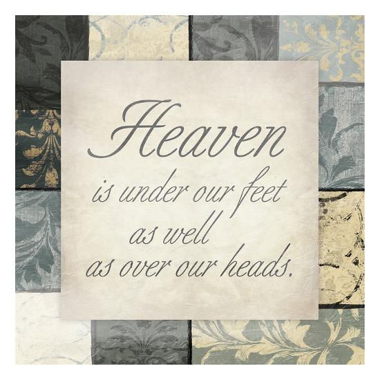 Heaven Under Feet-Jace Grey-Art Print