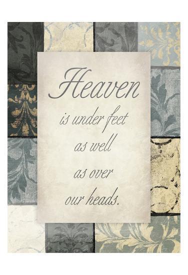 Heaven Under Our Feet-Jace Grey-Art Print