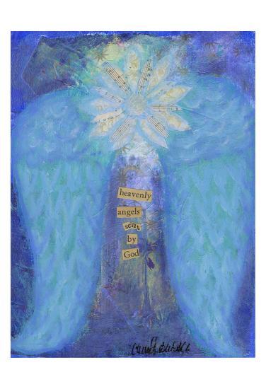 Heavenly Angels-Cherie Burbach-Art Print
