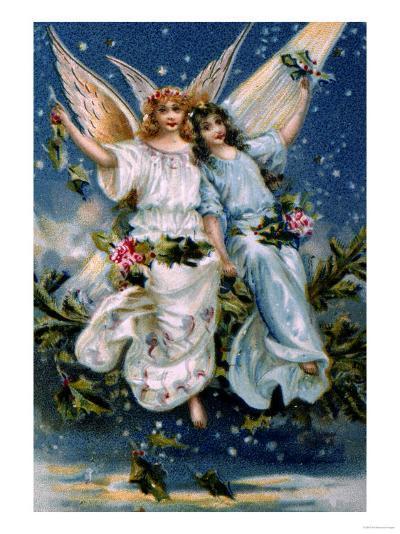 Heavenly Angels--Giclee Print
