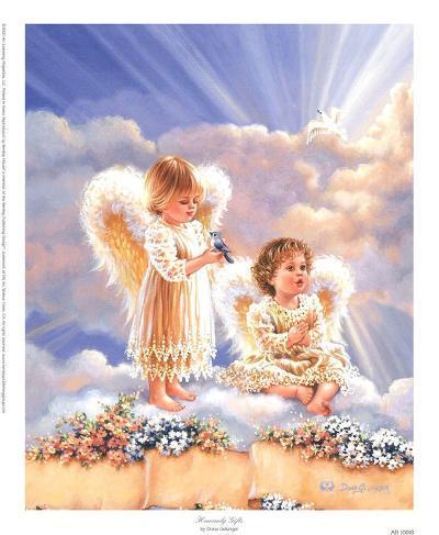 Heavenly Gifts-Dona Gelsinger-Art Print