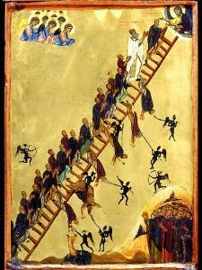 Heavenly Ladder of Saint John Climacus, 12th century
