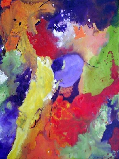 Heavens 2-Ruth Palmer 3-Art Print