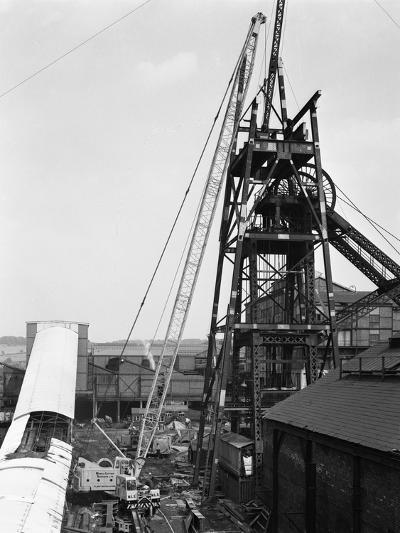 Heavy Lifting Gear at Hickleton Main Pit, Thurnscoe, South Yorkshire, 1961-Michael Walters-Photographic Print