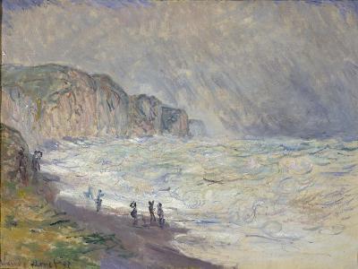Heavy Sea at Pourville, 1897-Claude Monet-Giclee Print