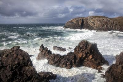 Heavy Seas Pounding the Rocky Coastline at Dalbeg-Lee Frost-Photographic Print