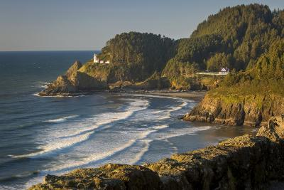 Heceta Head Lighthouse Along the Oregon Coast, USA-Brian Jannsen-Photographic Print