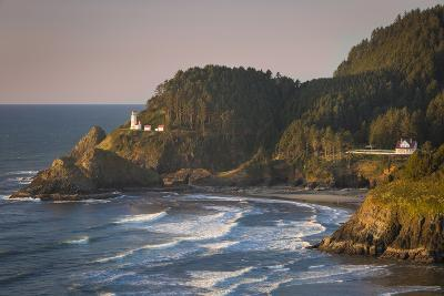 Heceta Head Lighthouse Along the Oregon Coast, USA-Brian Jannsen-Photographic Print