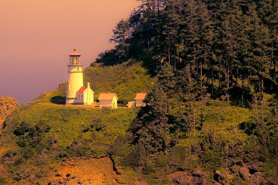 Heceta Head Lighthouse-George Johnson-Photo