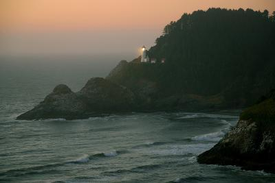 Heceta Sunset-Brian Kidd-Photographic Print
