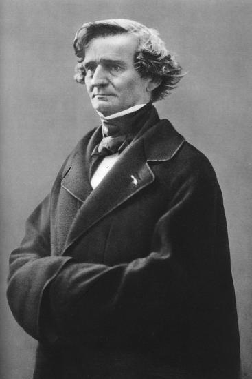Hector Berlioz (1803-186), French Romantic Composer-Felix Nadar-Giclee Print