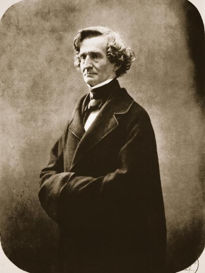 Hector Berlioz, 1863-Nadar-Giclee Print