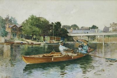 A Boating Party on the Thames at Cookham