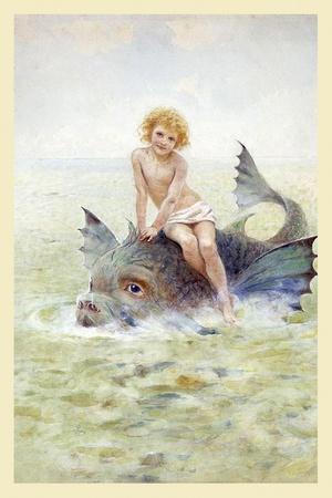 Child And A Sea Creature