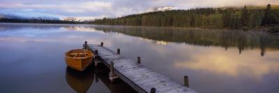 Hector Lake, Mt John Laurie, Rocky Mountains, Kananaskis Country, Calgary, Alberta, Canada--Photographic Print