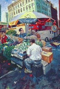 Chinese Vegetable Stall, 2000 by Hector McDonnell