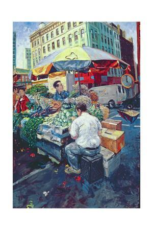 Chinese Vegetable Stall, 2000