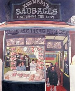 Kennedy's Sausages by Hector McDonnell