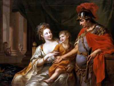 Hectors Departure, 1776-Johann Heinrich Wilhelm Tischbein-Giclee Print
