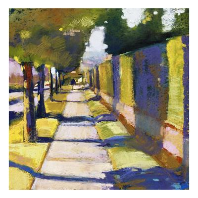 Hedge Wall-Lou Wall-Giclee Print