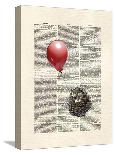 Hedgehog Aviator-Matt Dinniman-Stretched Canvas Print