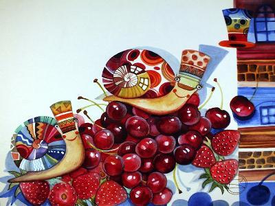 Hedgehogs-Oxana Zaika-Giclee Print