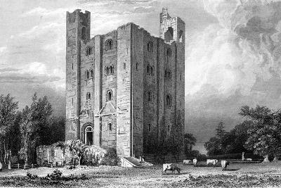 Hedingham Castle, Essex, Engraved by John Carr Armytage, 1832-William Henry Bartlett-Giclee Print