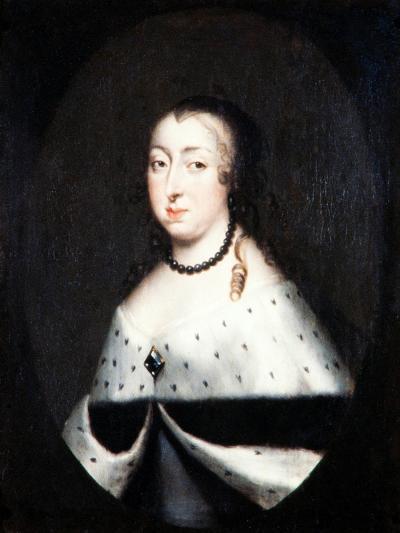 Hedvig Eleonora, Queen Dowager of Sweden, c.1661-David Klocker Ehrenstrahl-Giclee Print