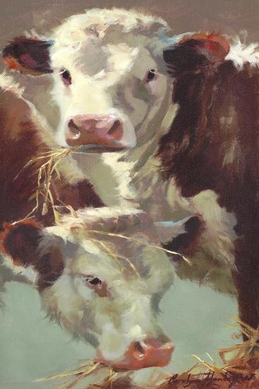 Hef 'n' Her-Carolyne Hawley-Art Print