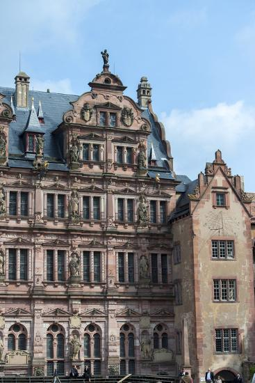 Heidelberg Castle, Baden-Wurttemberg, Germany-Jim Engelbrecht-Photographic Print