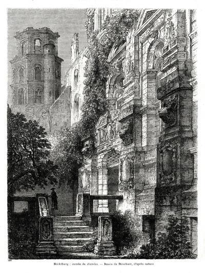 Heidelberg Castle, Germany, 1886-Francois Stroobant-Giclee Print