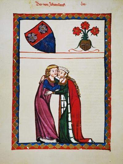 Heidelberg Lieder, 14Th C--Giclee Print