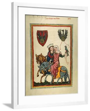 Heidelberg Lieder--Framed Giclee Print