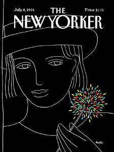 The New Yorker Cover - July 8, 1991 by Heidi Goennel